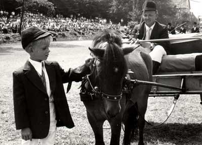 Lutz mit Pony
